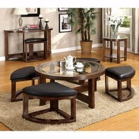 Harper Blvd Crestfield Dark Brown Coffee Table Storage