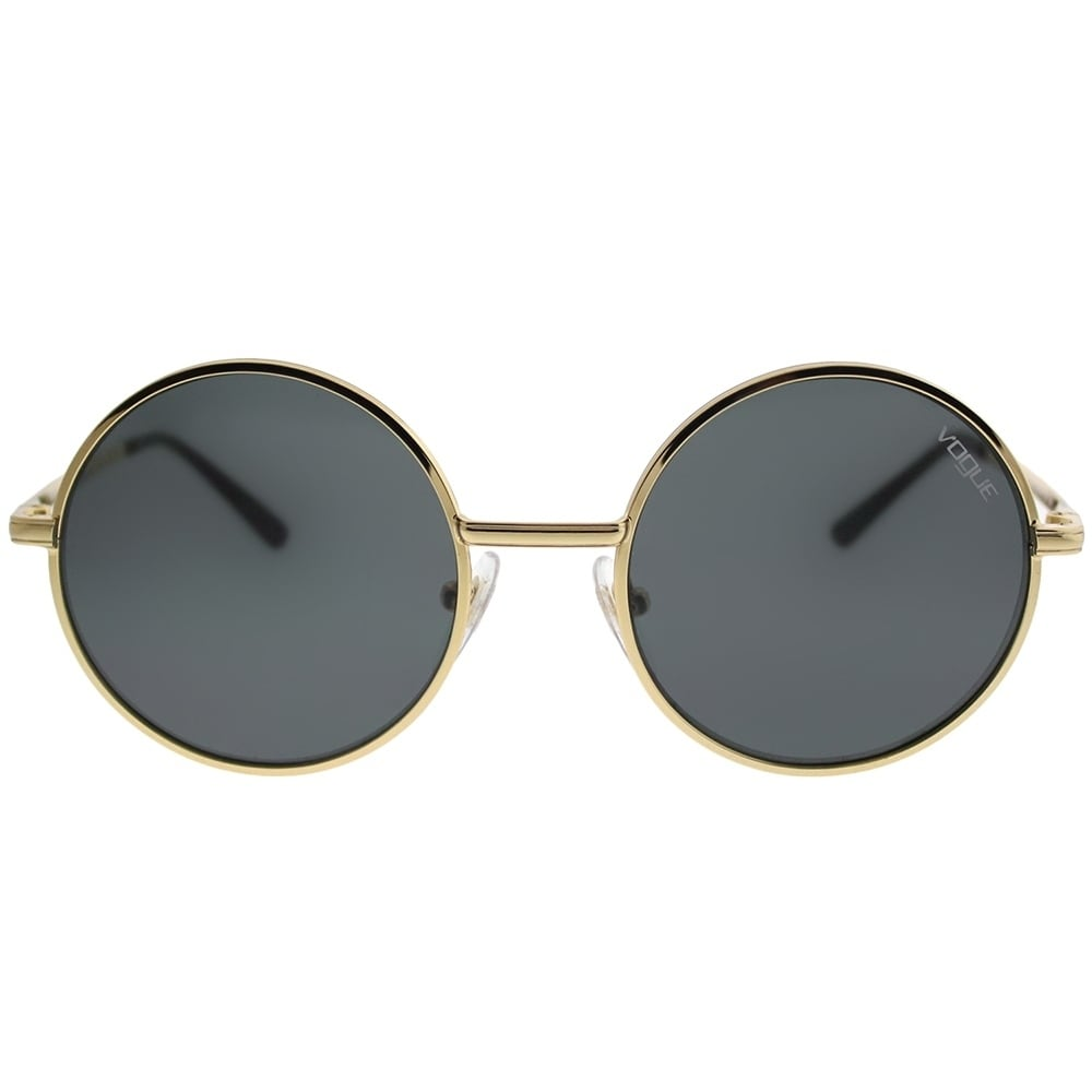 cc50a4f86 Shop Vogue Eyewear Round VO 4085S Gigi Hadid For Vogue 280/87 Women Gold  Frame Grey Lens Sunglasses - Free Shipping Today - Overstock - 21466074