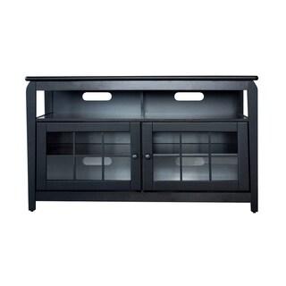 "AmeriHome 48"" Wood Television Stand - Black"