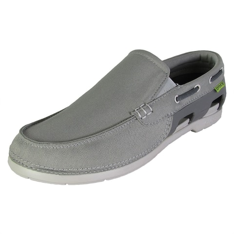 1f9a884dc5 Crocs Mens Beach Line Slip On Boat Shoes