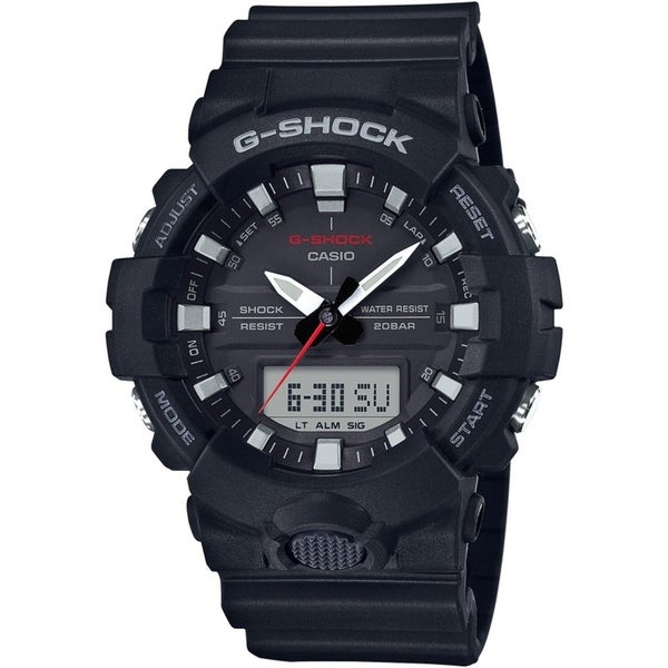 Casio G Shock Ga 800 Series Analog Digital Men S Watch Black