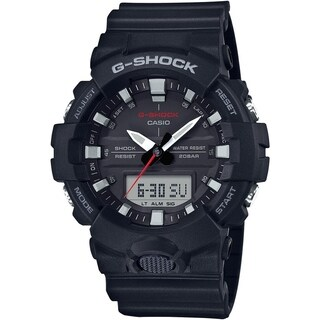 Casio G-Shock GA-800 Series Analog-Digital Men's Watch (Black)