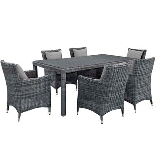 Invite 7 Piece Outdoor Patio Sunbrella® Dining Set (2 options available)