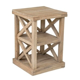 Link to East At Main Madeline Rustic End Table Similar Items in Living Room Furniture