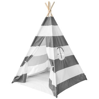 Teepee Play Tent For Kids - Gray