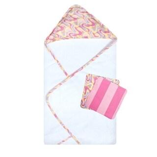 Dr. Seuss Oh, the Places You'll Go! Pink 3 Pack Bath Bundle Box Set