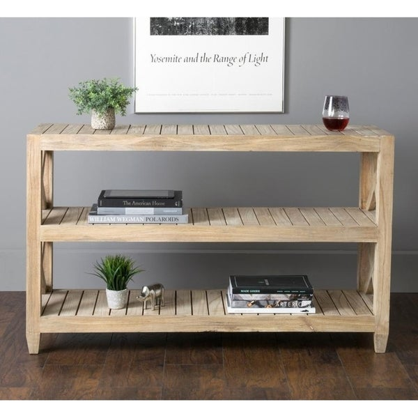 """East At Main's Madeline Rustic Console Table - 48"""" x 15.75"""" x 29"""""""