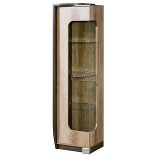 ROMERO Glass Door Display Cabinet Left Side