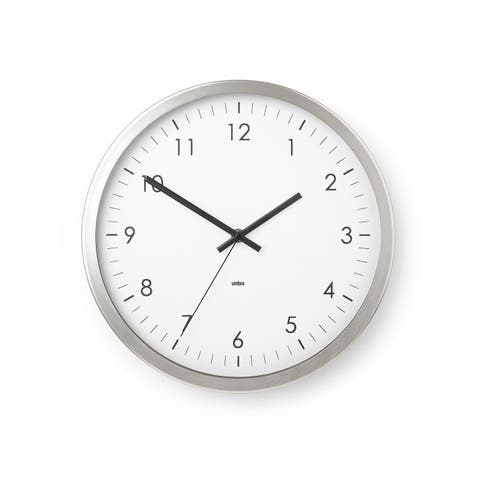 Buy Modern & Contemporary, Wall Clocks Online at Overstock