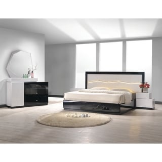Best Master Furniture White/ Black 5 Pieces Bedroom Set