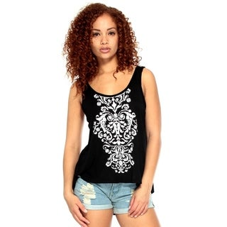 Simplicity Summer Women Sleeveless T-Shirt Vest Tank Tops, 5088_Black, M