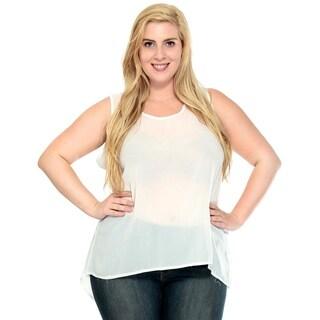 Simplicity Women's Summer Plus Size Blouse Loose Fit Tops