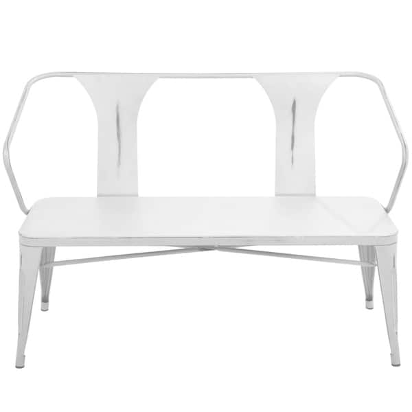 Pleasing Shop Waco Industrial Metal Dining Entryway Bench On Sale Caraccident5 Cool Chair Designs And Ideas Caraccident5Info