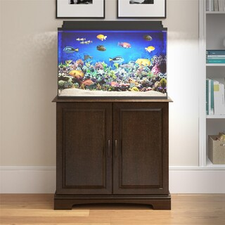 Avenue Greene Beachwood 29 - 37 Gallon Aquarium Stand (Option: Espresso Finish)