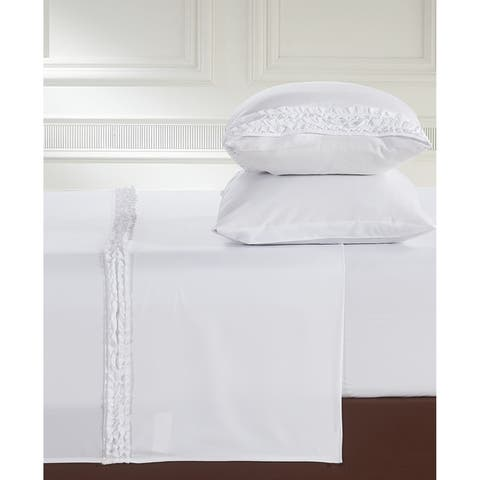 Luxuriously Soft and Romantic Design Ruffled Bed Sheet Sets