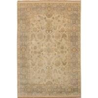 eCarpetGallery  Hand-knotted Royal Ushak Ivory Wool Rug - 5'3 x 7'11