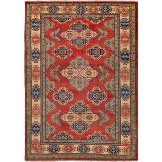 eCarpetGallery  Hand-knotted Finest Gazni Dark Copper Wool Rug - 4'10 x 6'11