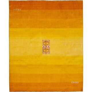eCarpetGallery Hand-knotted Finest Ziegler Chobi Cream, Light Gold Wool Rug - 8'3 x 10'0