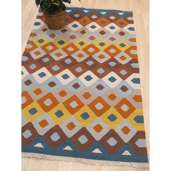 Handmade Polyester Multicolored