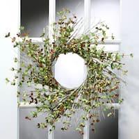 24 Inch Mystic Eucalyptus Twig Wreath