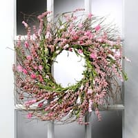 24 Inch Clover Berry Wreath