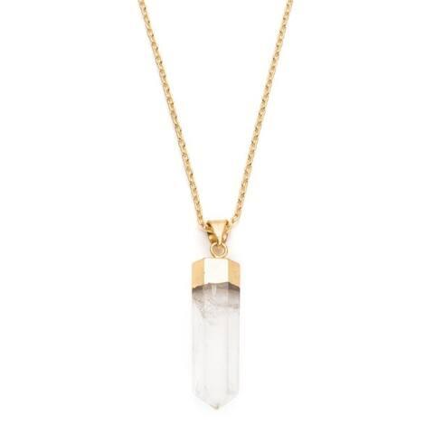 Indira - Real Crystal Drop Necklace