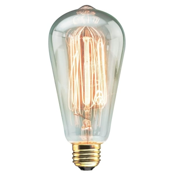 Vintage Clear Teardrop Bulb. Opens flyout.