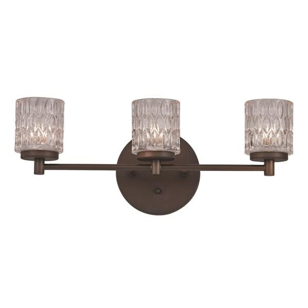 3 light vanity bar brushed nickel bayou rubbed oil bronze 3light vanity bar free shipping today