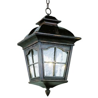 Briarwood Antique Rust 3-light Hanging Lantern