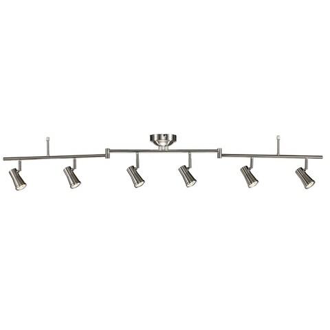 Robbins Brushed Nickel Integrated LED Track Light