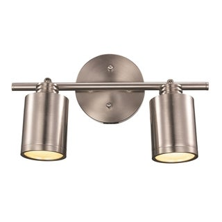 Holdrege Brushed Nickel 2-light Track Light