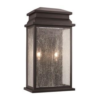 Freemont Black 2-light Pocket Lantern
