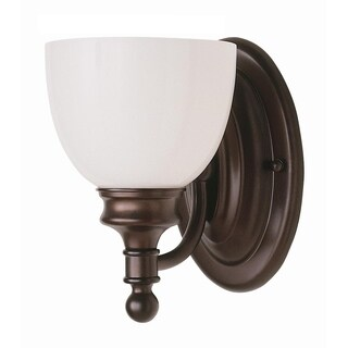 Kovacs Rubbed Oil Bronze 1-light Wall Sconce