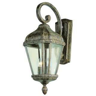 Covington Burnished Rust 2-light Wall Lantern