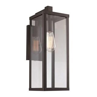 Oxford Black 1-light Wall Lantern
