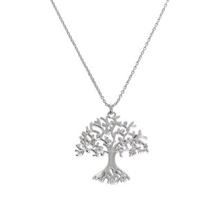 Eternally Haute Tree Of Life Pendant Necklace