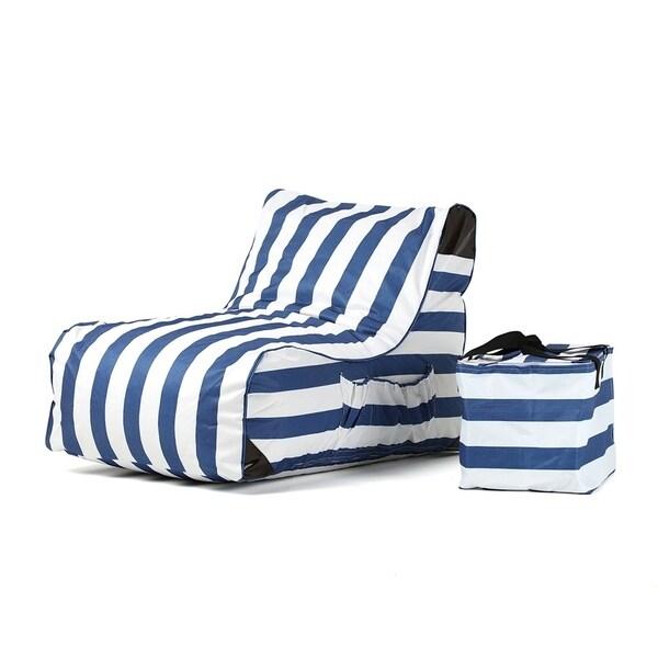 OVE Decors Paola Akiko Stripes Print Lounge Chair