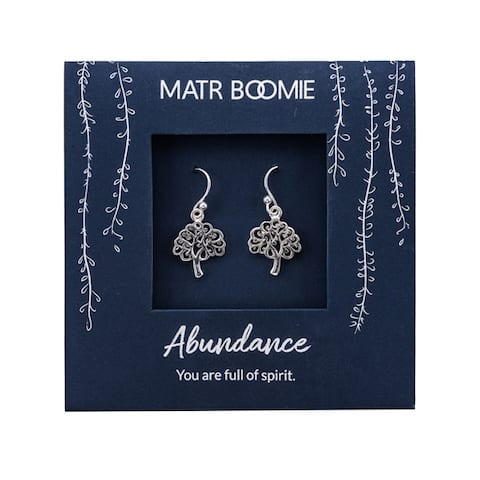 Handmade Sterling Silver Hearts Earrings (India)