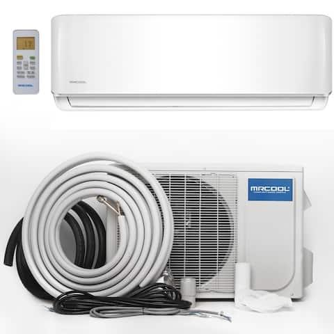 MRCOOL Advantage 12,000 BTU 1 Ton Ductless Mini-Split Air Conditioner and Heat Pump - 230V/60 Hz - White