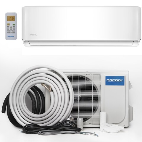 MRCOOL Advantage 12,000 BTU 1 Ton Ductless Mini-Split Air Conditioner and Heat Pump - 230V/60 Hz - White