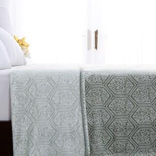 Berkshire Blanket Green Garden VelvetLoft® Blanket