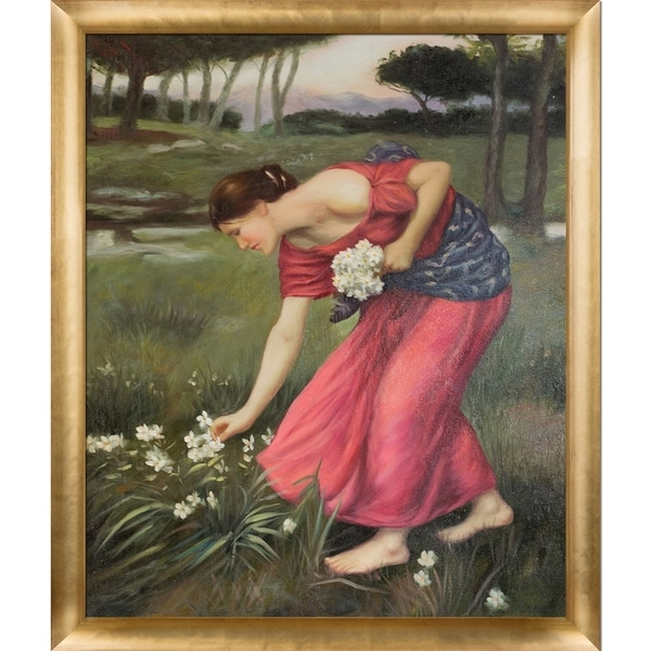 Color Scheme to: John William Waterhouse - Narcissus; 1912
