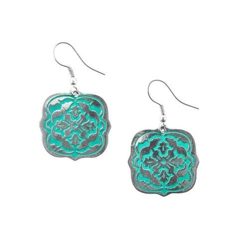 Patina Arabesque Earrings