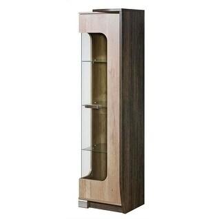 ROMERO Glass Door Display Cabinet Right Side