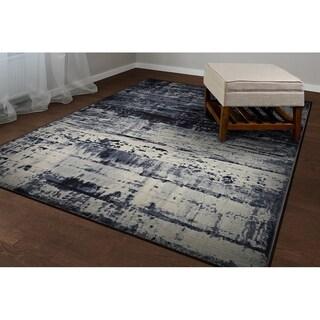 Couristan Inc Easton Abstract Mosaic Slate Area Rug - 7'10 x 11'2
