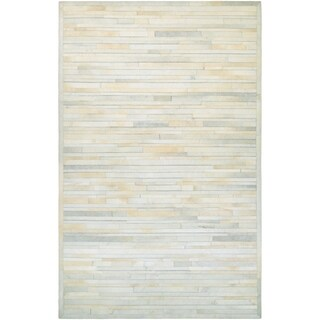 Couristan Chalet Plank Ivory Area Rug - 2' x 4'