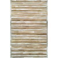 Couristan Chalet Plank Beige-Brown Area Rug - 2' x 4'