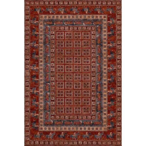 """Parish Altai Antique Red Runner Rug - 2'2"""" x 8'11"""" runner"""