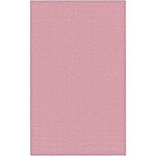Couristan Cottages Bungalow Pink Indoor/Outdoor Area Rug - 2' x 3'