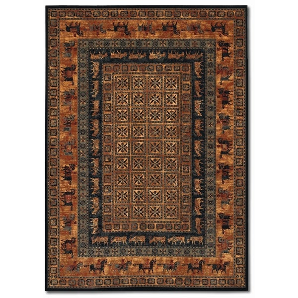 "Parish Altai Burnished Rust Runner Rug - 2'2"" x 8'11"" runner"